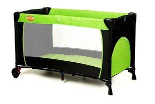 Kelioninė lovytė maniežas Basic, žalias