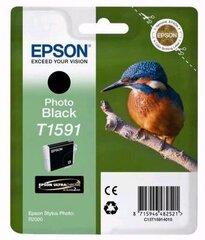 EPSON T1591 PHOTO BLACK kaina ir informacija | EPSON T1591 PHOTO BLACK | pigu.lt