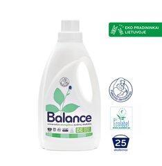 BALANCE ekologiškas skystas skalbiklis 1,5L universalus, 25 skalb. kaina ir informacija | Skalbimo priemonės | pigu.lt