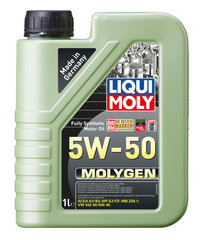 Sintetinė variklių alyva Liqui-Moly Molygen 5W-50, 1L