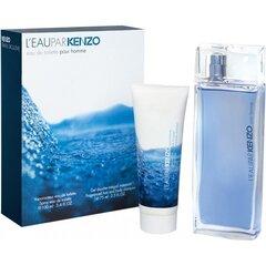 Rinkinys Kenzo L'eau Par Kenzo Pour Homme: EDT vyrams 100 ml + dušo želė 75 ml