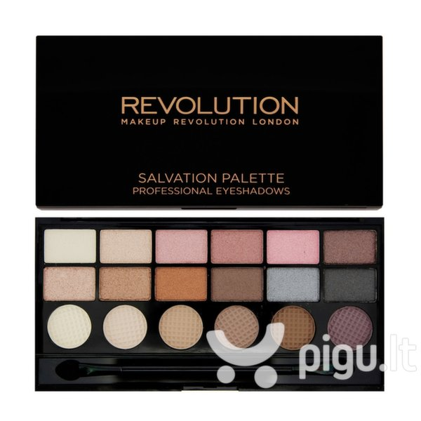 Akių šešėlių paletė Makeup Revolution London Salvation Palette Girl Panic 13 g