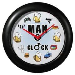 Tikro vyro laikrodis su garsu kaina ir informacija | Laikrodžiai  žadintuvai | pigu.lt