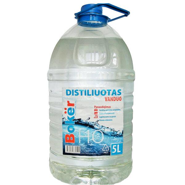 BOKER distiliuotas vanduo, 5 L