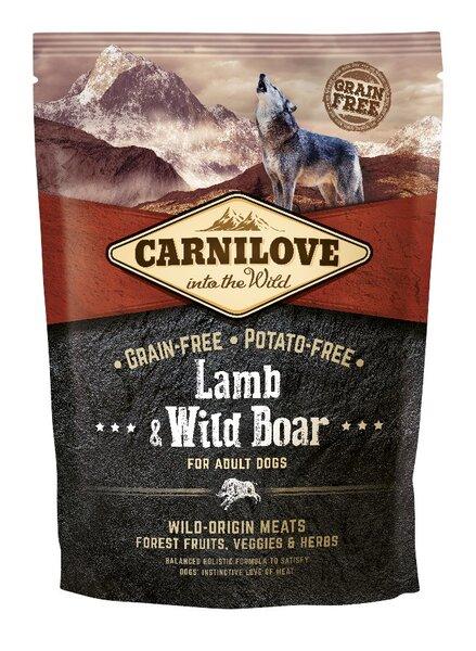 Carni Love Lamb & Wild Boar for Adult 1,5kg