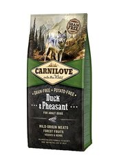 Carni Love Duck & Pheasant for Adult 12kg kaina ir informacija | Carni Love Duck & Pheasant for Adult 12kg | pigu.lt