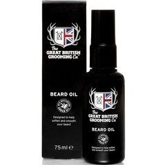 Aliejus barzdai The Great British Grooming Co. 75 ml