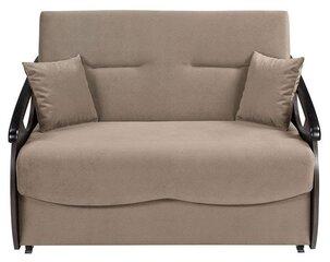 Miegamasis fotelis-sofa Ida II 2FBKA, smėlio