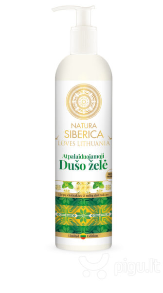 Dušo želė Natura Siberica Loves Lithuania 400 ml