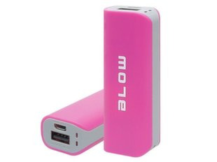 Power Bank 4000mAh 1xUSB PB11 rožinis