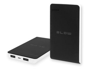 Blow Power Bank 8000mAh 2xUSB PB13 juodas