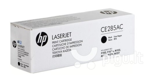 Toneris HP 85A black | 1600pgs | Contractual | LJ P3010