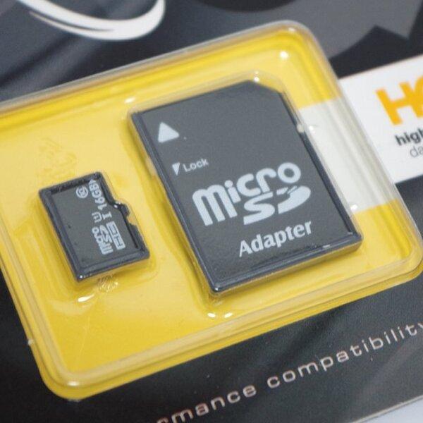 Micro SDHC kortelė Imro 16 GB, klasė 10 UHS-1 + adapteris