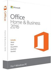 Microsoft Office Home and Business 2016 LT