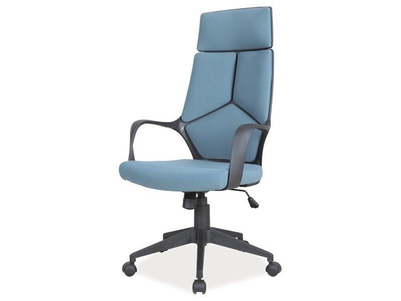 Biuro kėdė Q-199, mėlyna