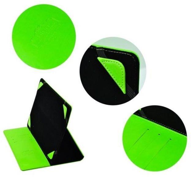 """Apsauginis dėklas Blun skirtas planšetiniams kompiuteriams 8"""", Žalias"""
