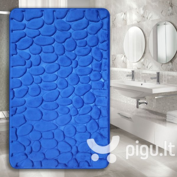 "Memory foam kilimėlis ""Benedomo"" Deep blue, 50x80 cm"