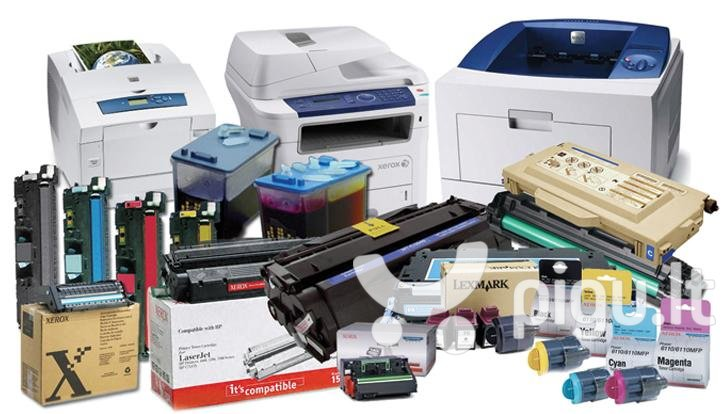 Toneris INKSPOT skirtas lazeriniams spausdintuvams (HP) (mėlyna) HP Color Laserjet 2550, HP Color Laserjet 2820, HP Color Laserjet 2840