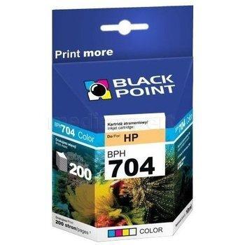 Rašalo kasetė Black Point BPH704C, trijų spalvų
