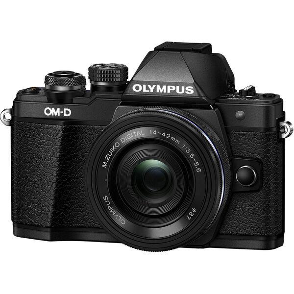Olympus OM-D E-M10 Mark II + 14-42mm II R Kit, Juoda