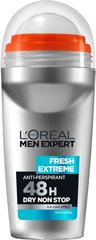 Rutulinis dezodorantas L'Oreal Paris Men Expert Fresh Extreme 50 ml