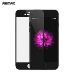 Remax Royal series 0.2mm Full Face Tempered Glass with Silicone Frame for Apple iPhone 6 6S 4.7inch Black