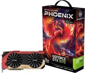 Gainward GeForce GTX1070 Phoenix 8GB GDDR5 (256 bit) DVI, HDMI, 3x DP, BOX (426018336-3699)