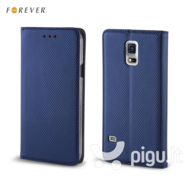 Apsauginis dėklas Forever Smart Magnetic Fix Book skirtas Samsung Galaxy J5 (J510), Mėlynas