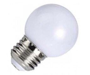 1W LED lemputė 220V Е27 P45 SMD LED, 3000K (šiltai balta) kaina ir informacija | Elektros lemputės | pigu.lt
