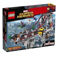 76057 Konstruktorius LEGO® Super Heroes Žmogus voras kaina ir informacija | Konstruktoriai ir kaladėlės | pigu.lt