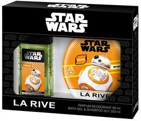 Rinkinys La Rive Star Wars Droid: EDT berniukams 80 ml + dušo želė-šampūnas 250 ml
