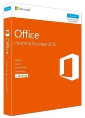 Microsoft T5D-02848 Office Home and Business 2016 Win Russian EuroZone Medialess P2 kaina ir informacija | Biuro programos | pigu.lt