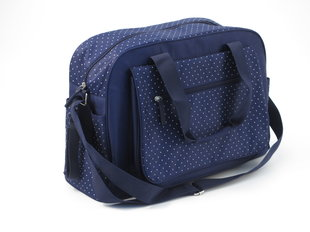 Mamos krepšys Summer Infant Navy Polka Dot