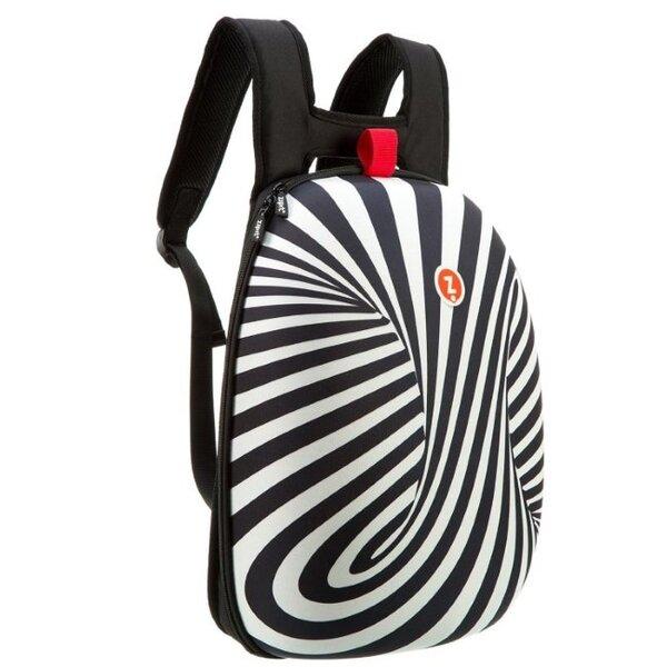 Kuprinė ZipIt Black Zebra kaina ir informacija | Kuprinės mokyklai, penalai, sportiniai maišeliai | pigu.lt