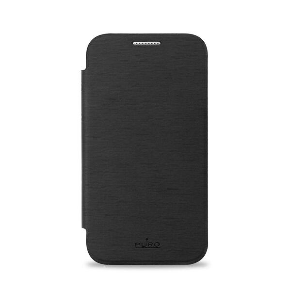 Apsauginis dėklas PURO skirtas Samsung Galaxy Core Prime, Juodas