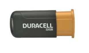 Duracell DRUSB32HP 32GB High Performance Super-Speed USB 3.1 Flash Disk Drive Black