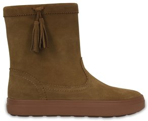 Aulinukai moterims Crocs™ Lodge Point Suede Pullon Boot