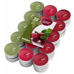 Kvepiančios arbatinės žvakės Wild Cranberry, 30 vnt.