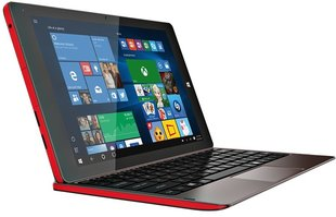 "Prestigio Multipad Visconte V, 10.1"", 3G, Ruda/Raudona + klaviatūra + Microsoft Office!"