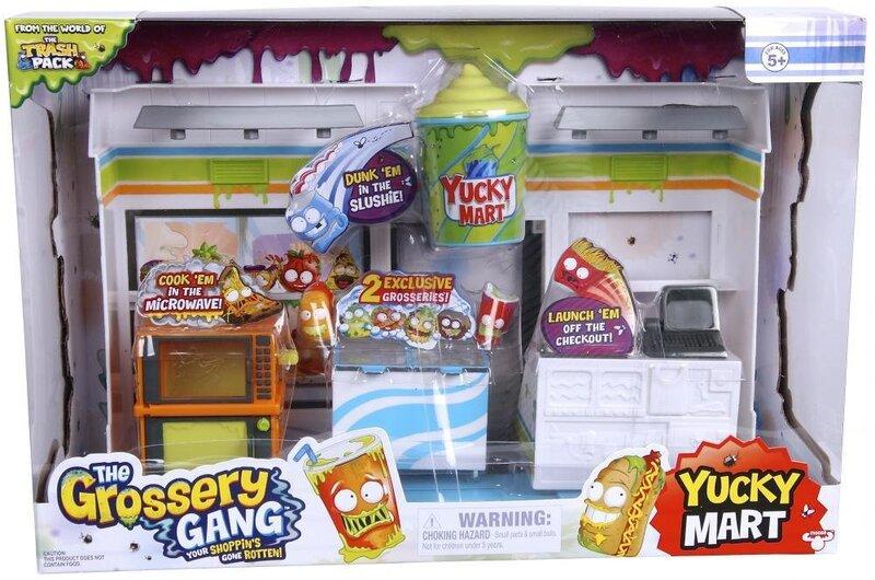 Žaidimo rinkinys Grossery Gang Yucky Mart, 69007 kaina
