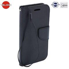Apsauginis dėklas Telone Fancy Diary Bookstand skirtas LG K8 (K350N), Juoda kaina ir informacija | Telefono dėklai | pigu.lt