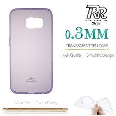 Apsauginis dėklas Roar Ultra Slim 0.3mm skirtas Apple iPhone 7, Violetinis kaina ir informacija | Apsauginis dėklas Roar Ultra Slim 0.3mm skirtas Apple iPhone 7, Violetinis | pigu.lt