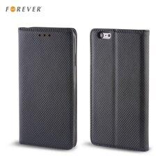 Apsauginis dėklas Forever Smart Magnetic Fix Book skirtas Huawei Honor 7 Lite/Honor 5C, Juodas kaina ir informacija | Telefono dėklai | pigu.lt
