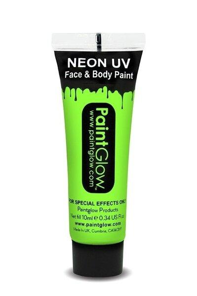 Šviečiantys UV žali dažai