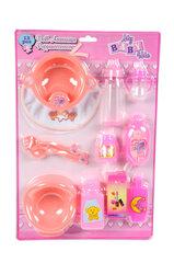 Aksesuarų rinkinys lėlei My Baby & Me, 12 vnt. kaina ir informacija | Žaislai mergaitėms | pigu.lt