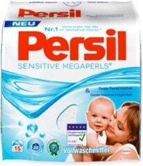 Persil Megaperls & Sensitive skalbimo milteliai, 1,1 kg kaina ir informacija | Skalbimo priemonės | pigu.lt