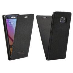 Atverčiamas dėklas Forcell Canvas Flexi skirtas Samsung Galaxy A5 (A510F), Juoda kaina ir informacija | Telefono dėklai | pigu.lt