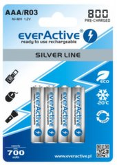 everActive Silver Line Ready to Use 800мАч AAA, 4 шт.