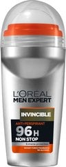 Rutulinis dezodorantas L'Oreal Paris Men Expert Invincible 50 ml