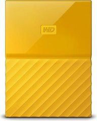 "WD My Passport 2.5"" 2 TB, USB 3.0, Geltona"